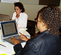 Photo of attendees at the 2006 Grant Writing Institute.
