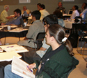 Photo of attendees at the 2008 Grant Writing Institute.