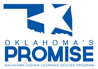 Logo: Oklahoma's Promise. Oklahoma Higher Learning Access Program.