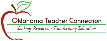 Logo: Oklahoma Teacher Connection. Linking Resources. Transforming Education.