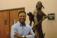 Photo of William Allen Young at Seminole State College.
