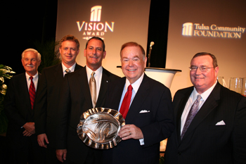 Photo of Clark, Wiscaver, McKeon, Boren and Johnson.