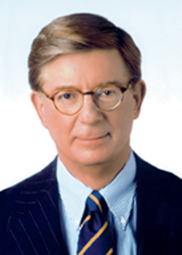 Photo of George Will.