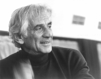 Photo of Leonard Bernstein.