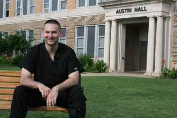 Photo of Dr. Grant Evans, USAO alumnus.