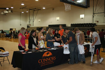Photo of Connors State College's College Fair.