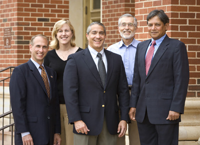 Photo of OSU Regents Distinguished Research Award winners.